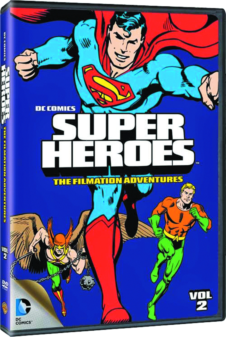 DC SUPER HEROES FILMATION ADVENTURES DVD VOL 02