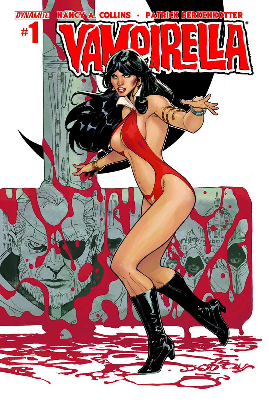 (USE APR148470) NEW VAMPIRELLA #1 MAIN DODSON