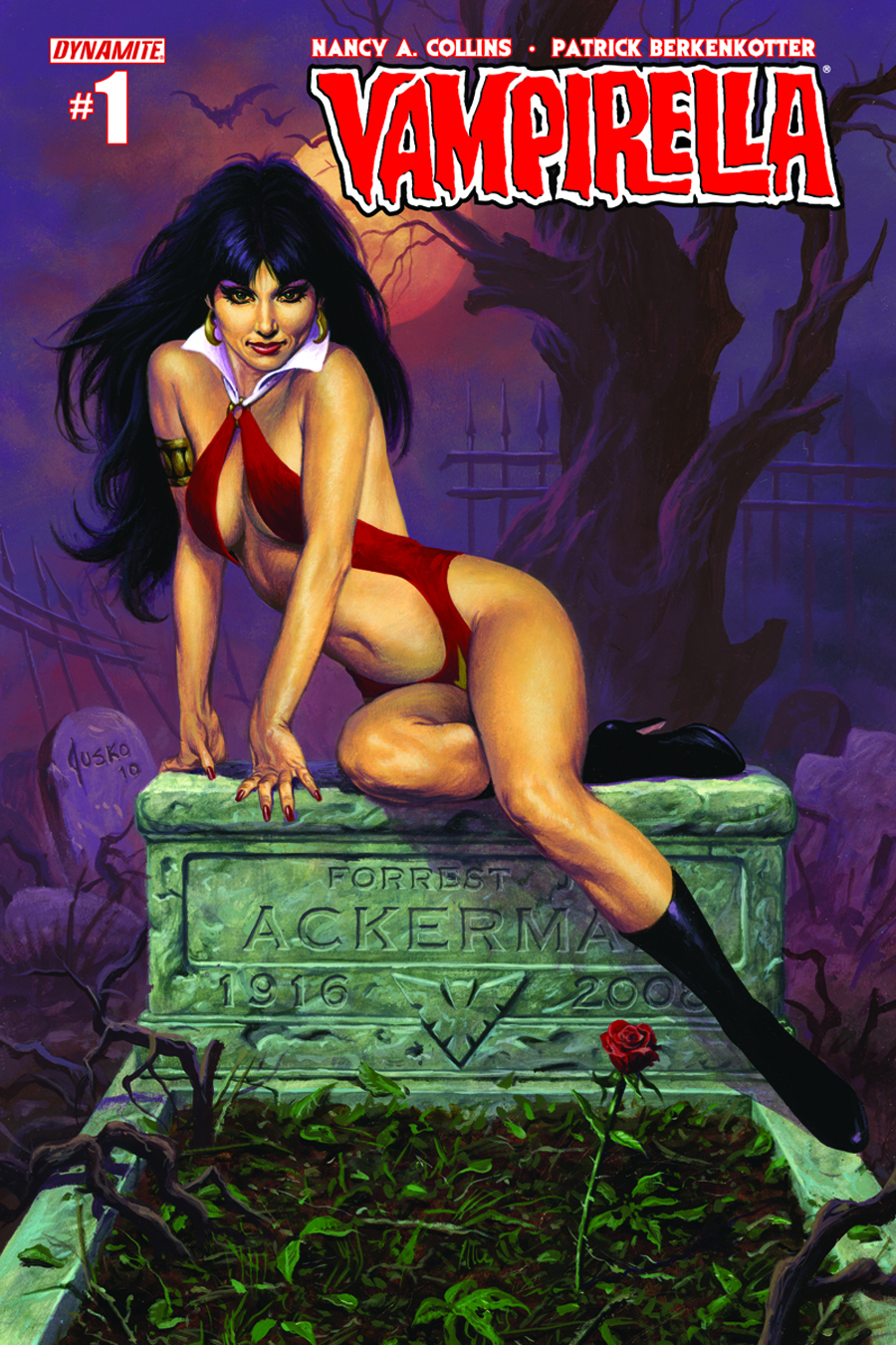 (USE APR148470) NEW VAMPIRELLA #1 CVR D JUSKO