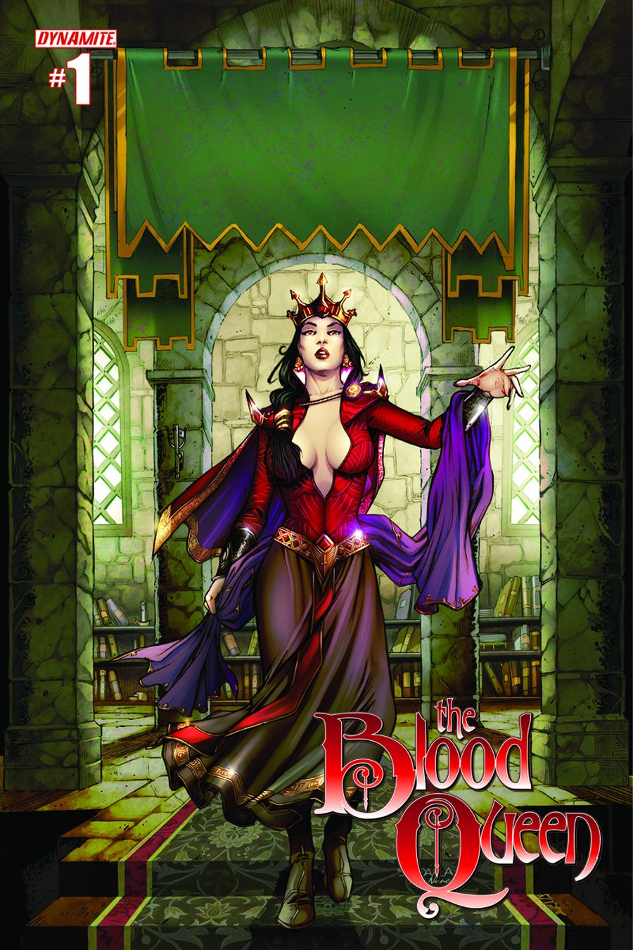 BLOOD QUEEN #1 RETAILER SHARED EXC VAR CVR