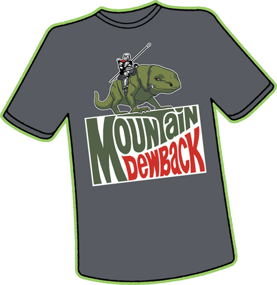 MOUNTAIN DEWBACK T/S XXXL