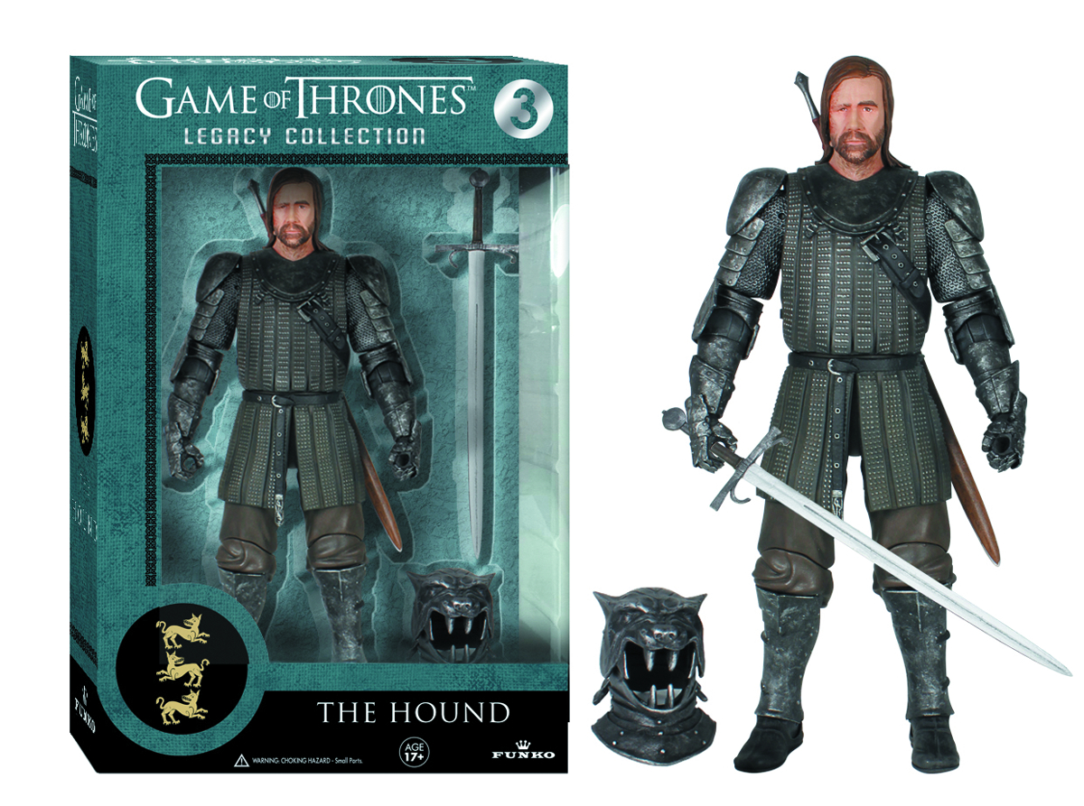 LEGACY GAME OF THRONES THE HOUND AF