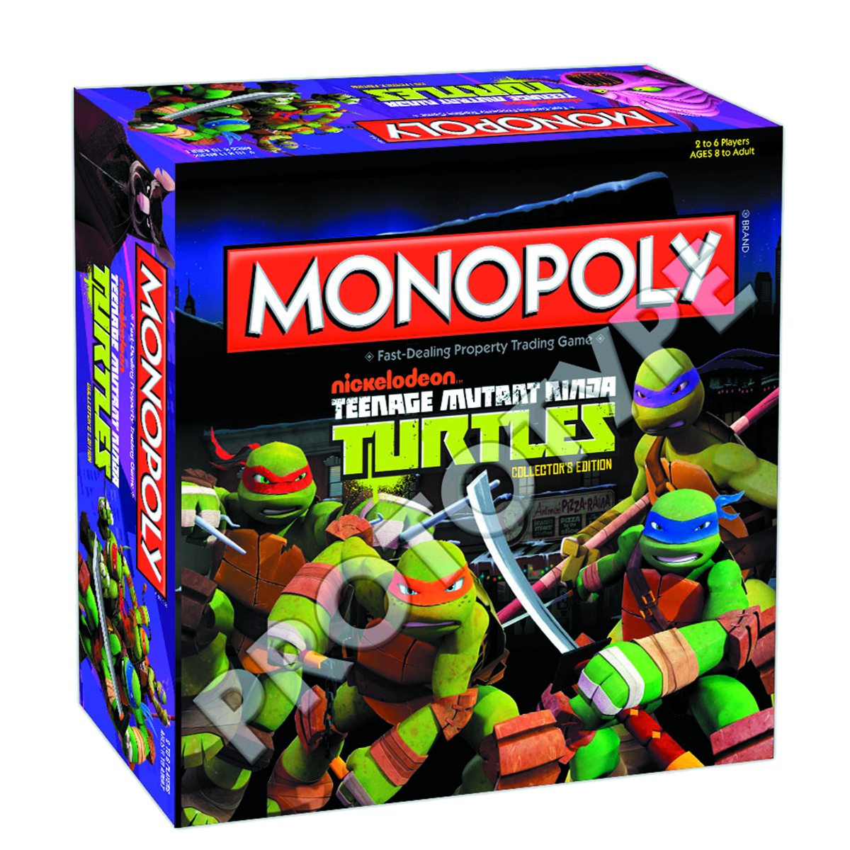 TEENAGE MUTANT NINJA TURTLES MONOPOLY