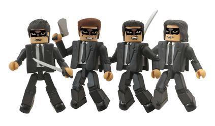 KILL BILL 10TH ANN MINIMATES CRAZY 88 BOX SET