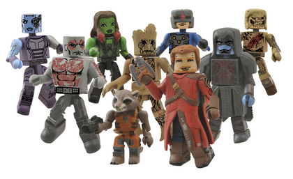 MARVEL MINIMATES SER 57 GUARDIANS O/T GALAXY ASST