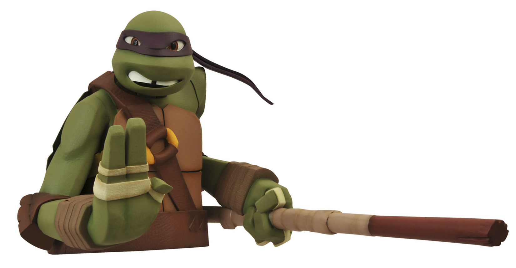 TMNT DONATELLO BUST BANK