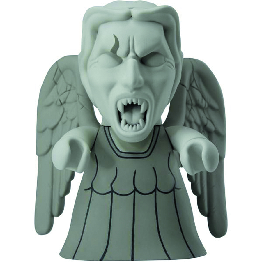 DOCTOR WHO TITANS WEEPING ANGEL 6.5IN VINYL FIG
