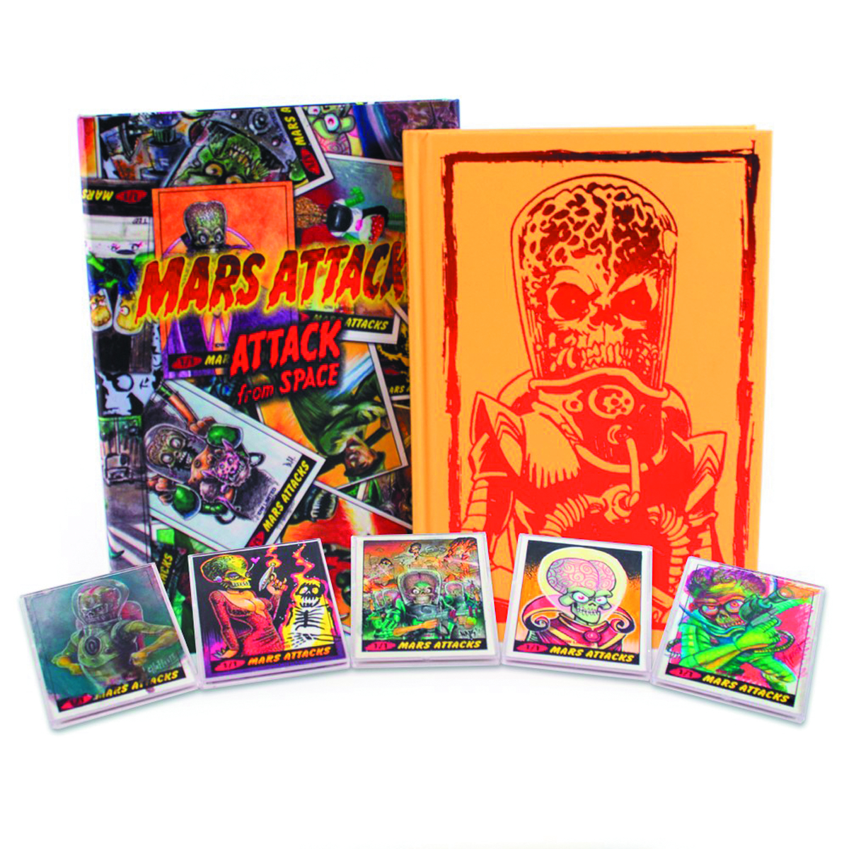 MARS ATTACKS ATTACK FROM SPACE LTD DLX HC