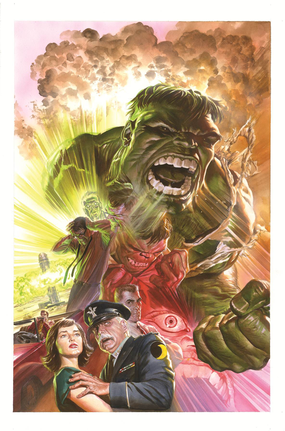 SAVAGE HULK #1 ROSS 75TH ANNIVERSARY VAR