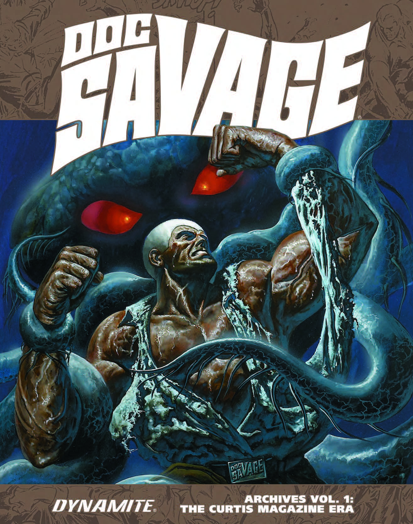DOC SAVAGE ARCHIVES HC VOL 01 CURTIS MAG ERA (MR)