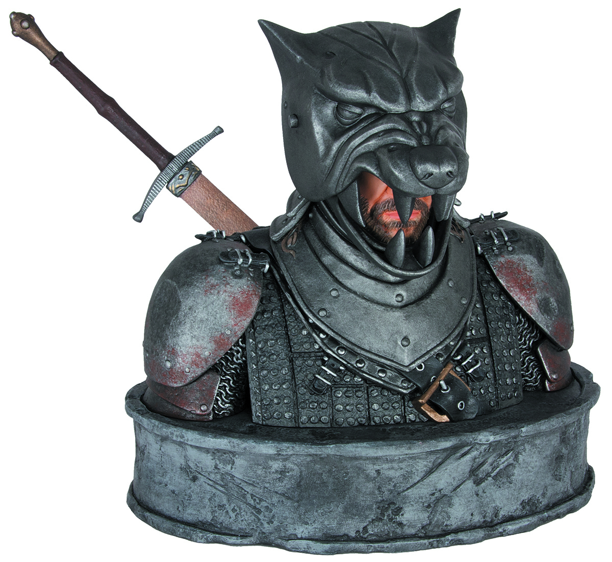 GAME OF THRONES BUST HOUND