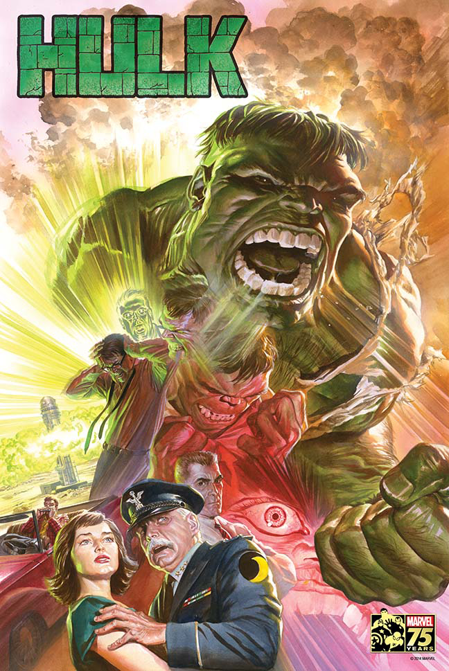 SAVAGE HULK BY ROSS POSTER