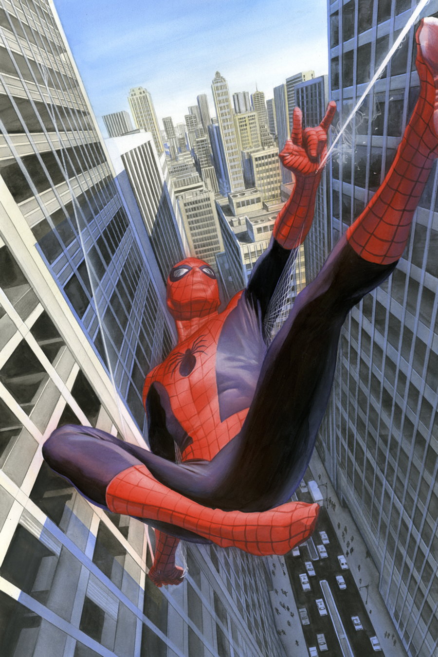 DF AMAZING SPIDER MAN 1.1 ALEX ROSS SGN