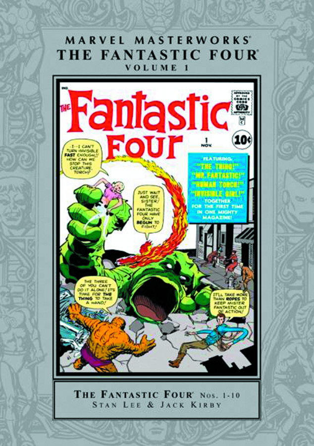 MMW FANTASTIC FOUR HC VOL 01 NEW PTG