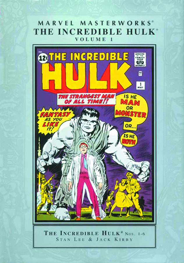 MMW INCREDIBLE HULK HC VOL 01 NEW PTG