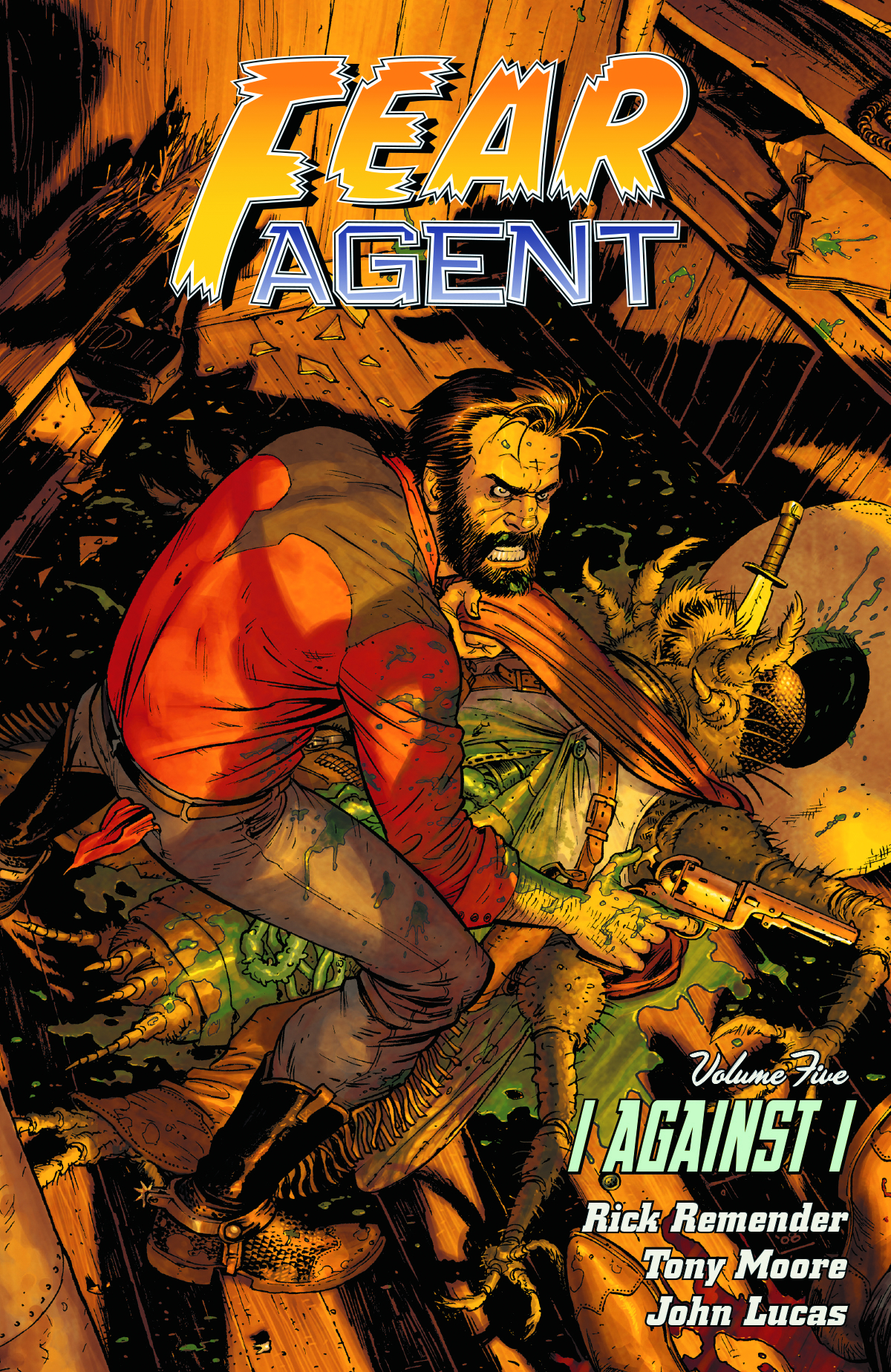 FEAR AGENT TP VOL 05 I AGAINST I