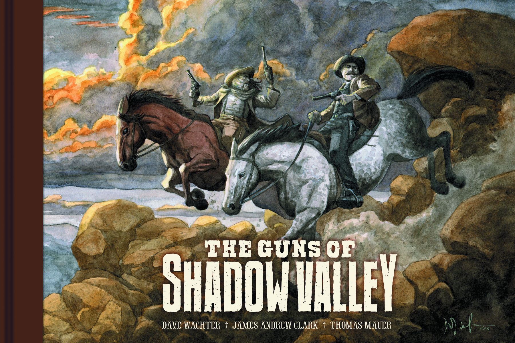 GUNS OF SHADOW VALLEY HC