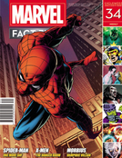 MARVEL FACT FILES #34 SPIDER-MAN OMD COVER