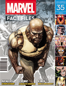MARVEL FACT FILES #35 LUKE CAGE COVER