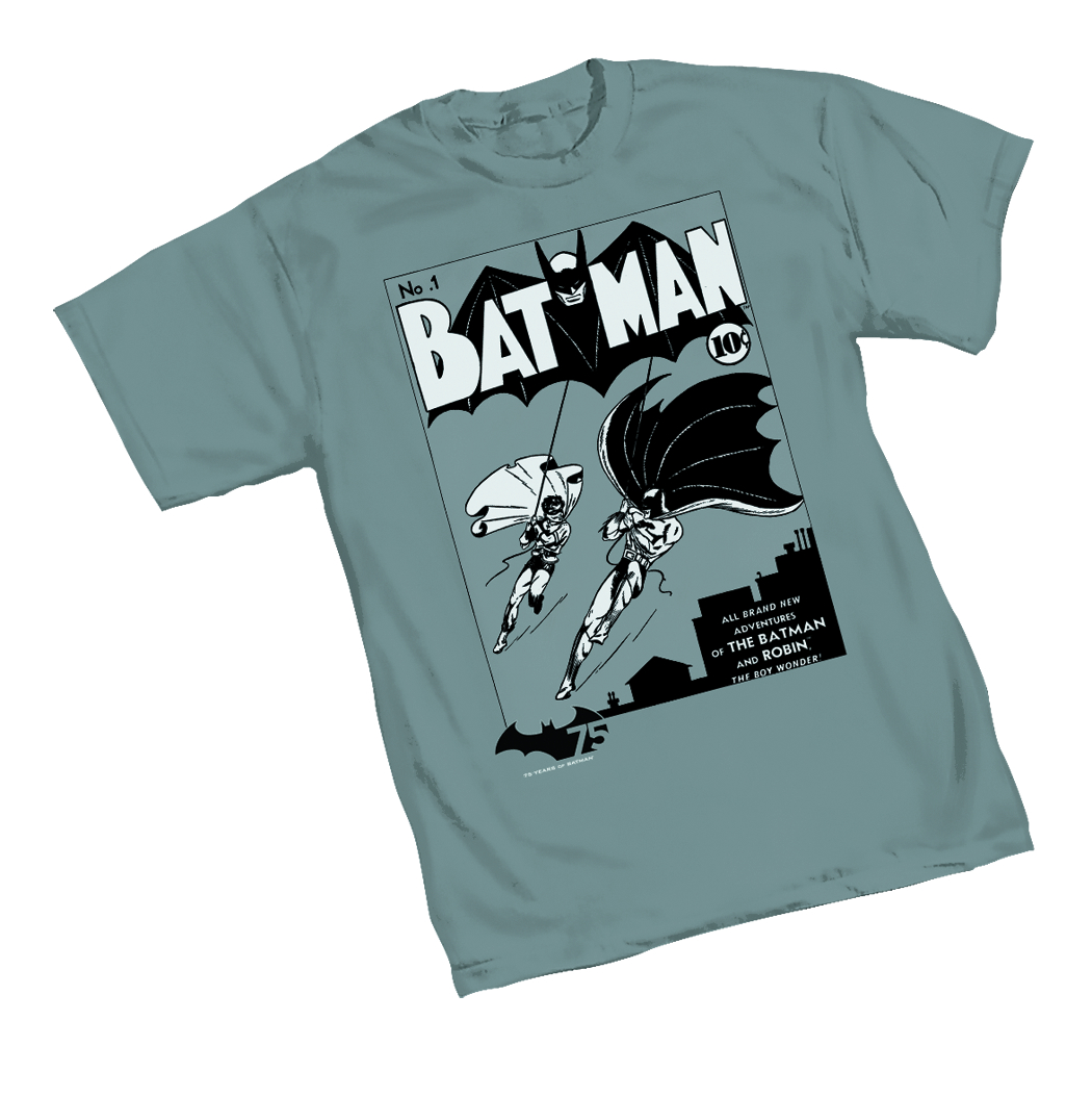 BATMAN 75TH BATMAN #1 T/S XL