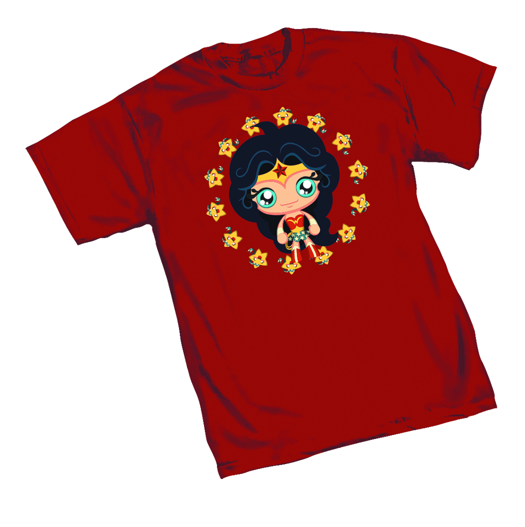 WONDER WOMAN CUTE T/S XXL