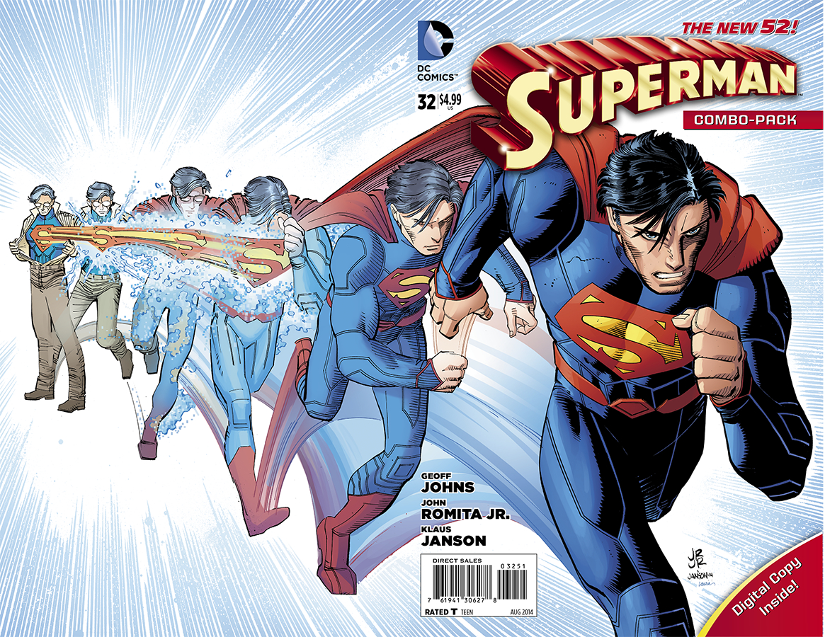 SUPERMAN #32 COMBO PACK