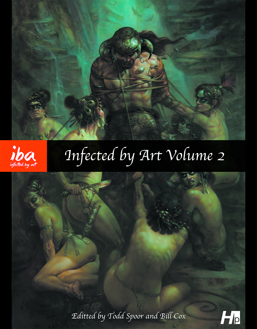 INFECTED BY ART BEST OF WORLDS FANTASY SF & HORROR ART HC