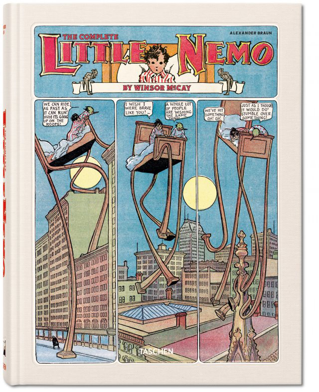 WINDSOR MCCAY COMPLETE LITTLE NEMO XL HC
