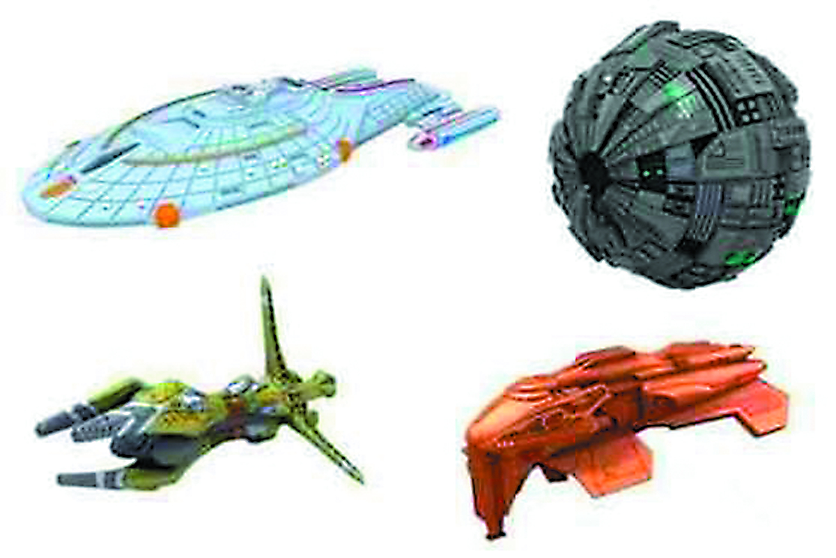 STAR TREK ATTACK WING BIOSHIP ALPHA EXP