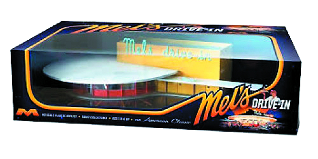 MELS DRIVE IN FINISHED MODEL KIT
