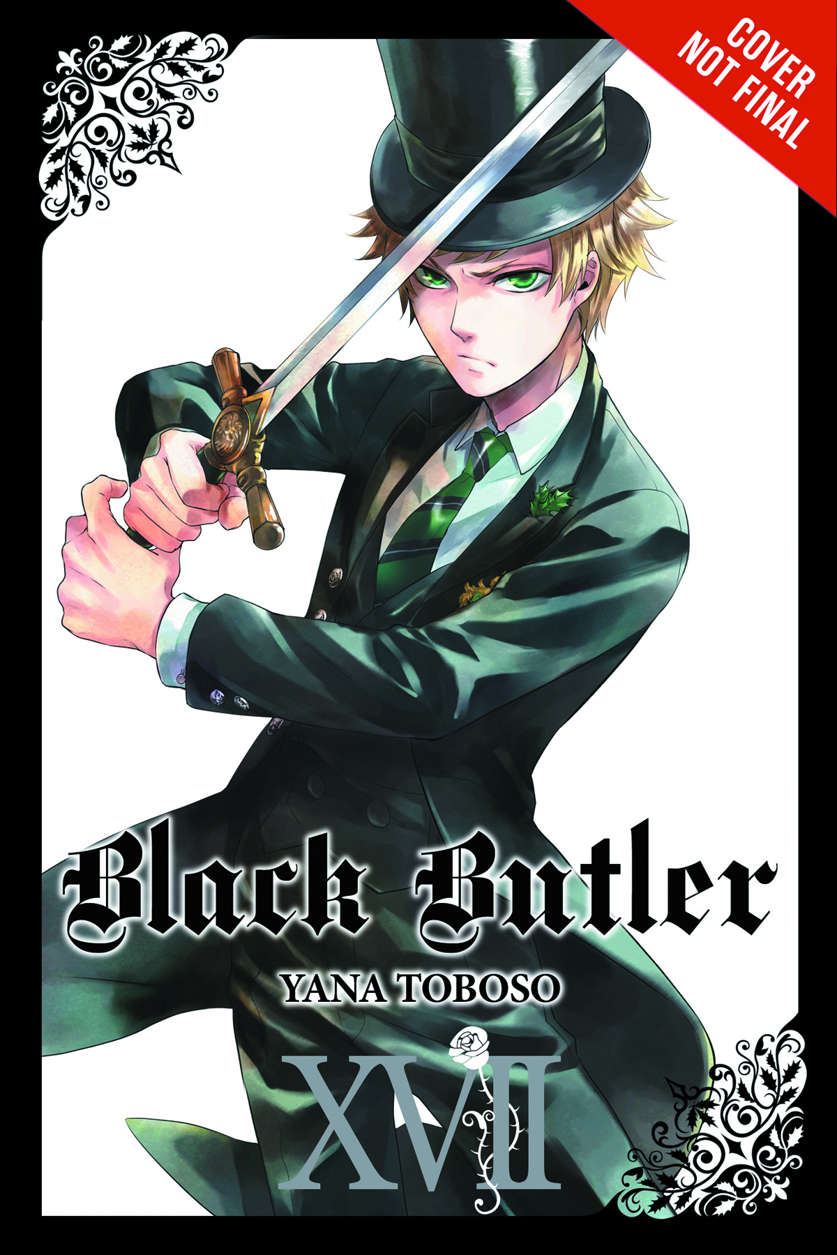 BLACK BUTLER GN VOL 17