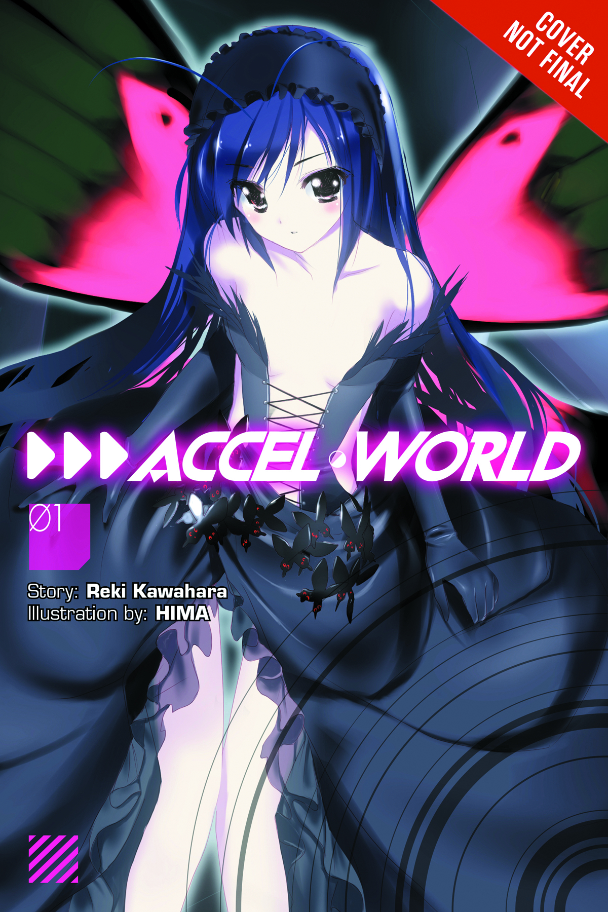 ACCEL WORLD NOVEL VOL 01 KUROYUKIHIMES RETURN