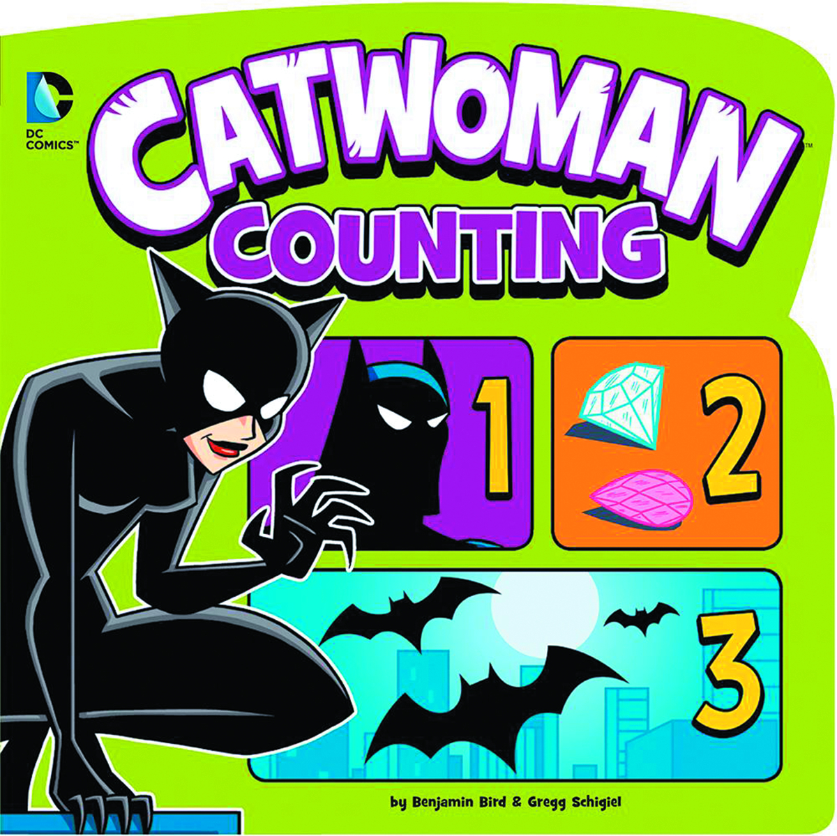 DC YR BOARD BOOK SM CATWOMAN COUNTING
