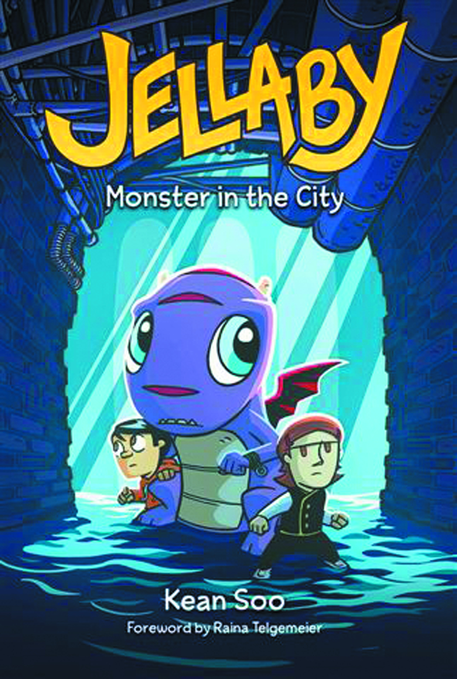 JELLABY CAPSTONE GN VOL 02 MONSTER IN CITY