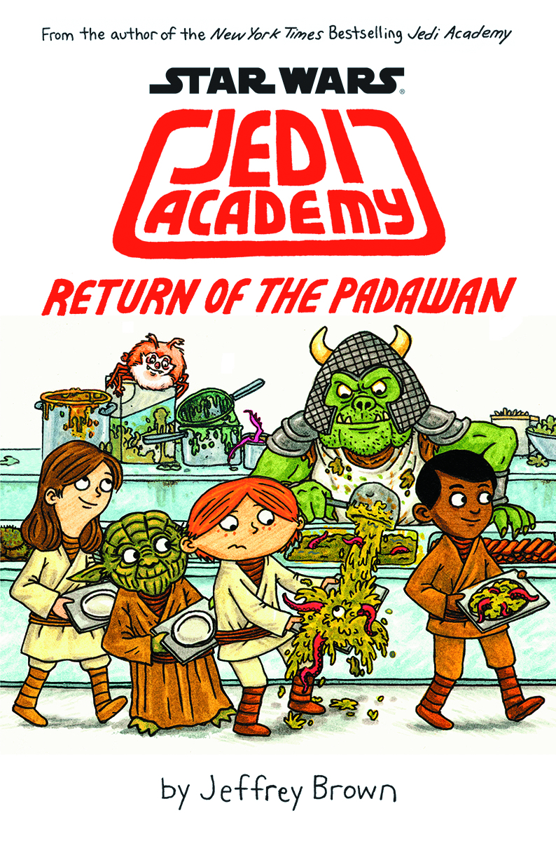 STAR WARS JEDI ACADEMY YR HC VOL 02 RETURN OF PADAWAN
