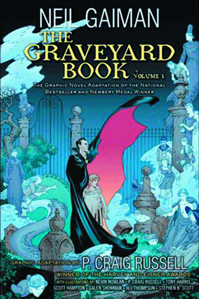 NEIL GAIMAN GRAVEYARD BOOK HC GN VOL 01 (OF 2)