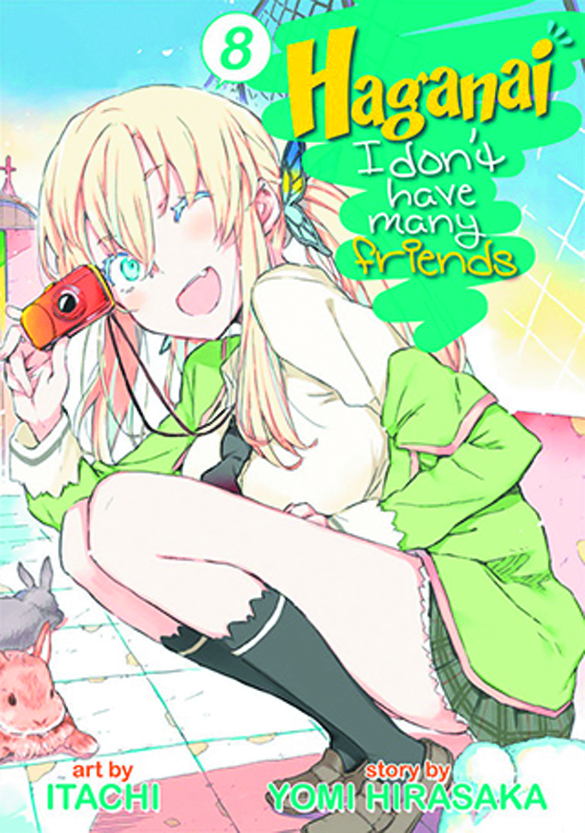 HAGANAI I DONT HAVE MANY FRIENDS GN VOL 08