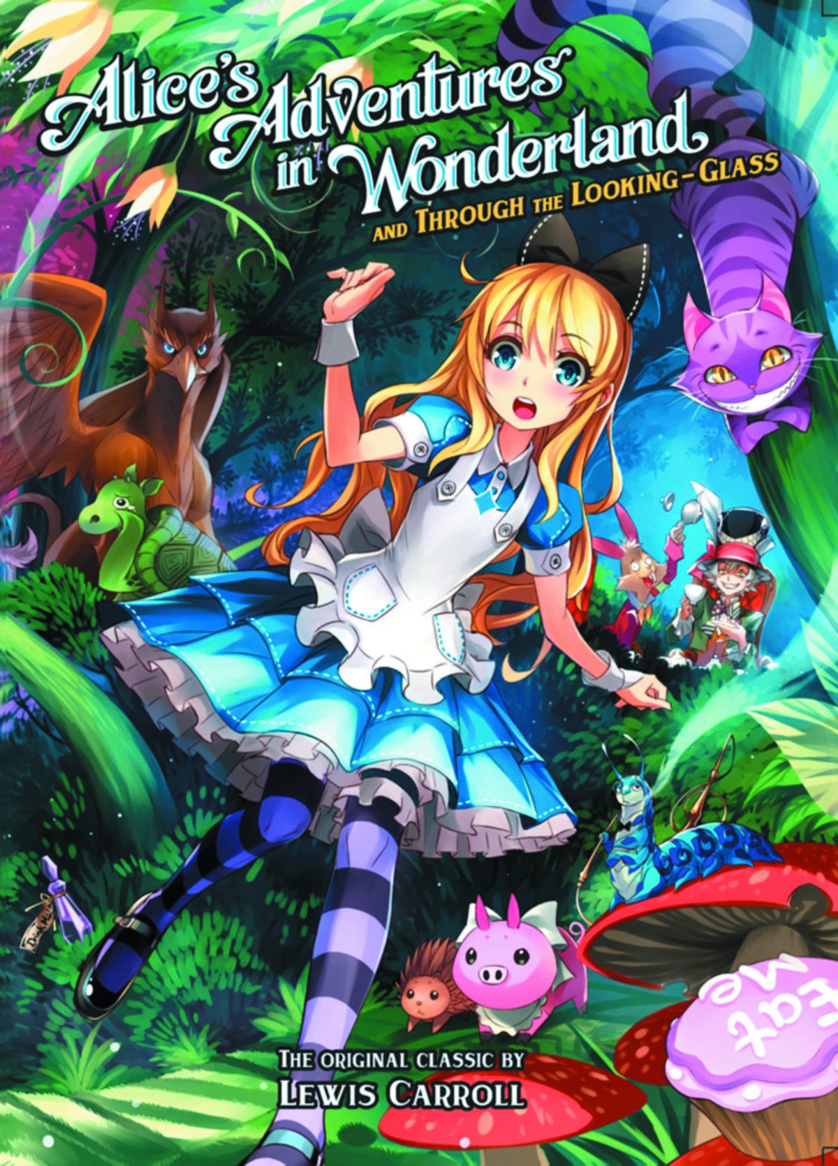 ALICES ADV IN WONDERLAND & THROUGH LOOKING GLASS GN VOL 01