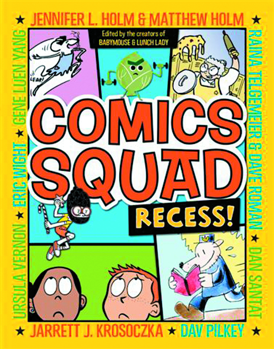 COMICS SQUAD RECESS GN VOL 01