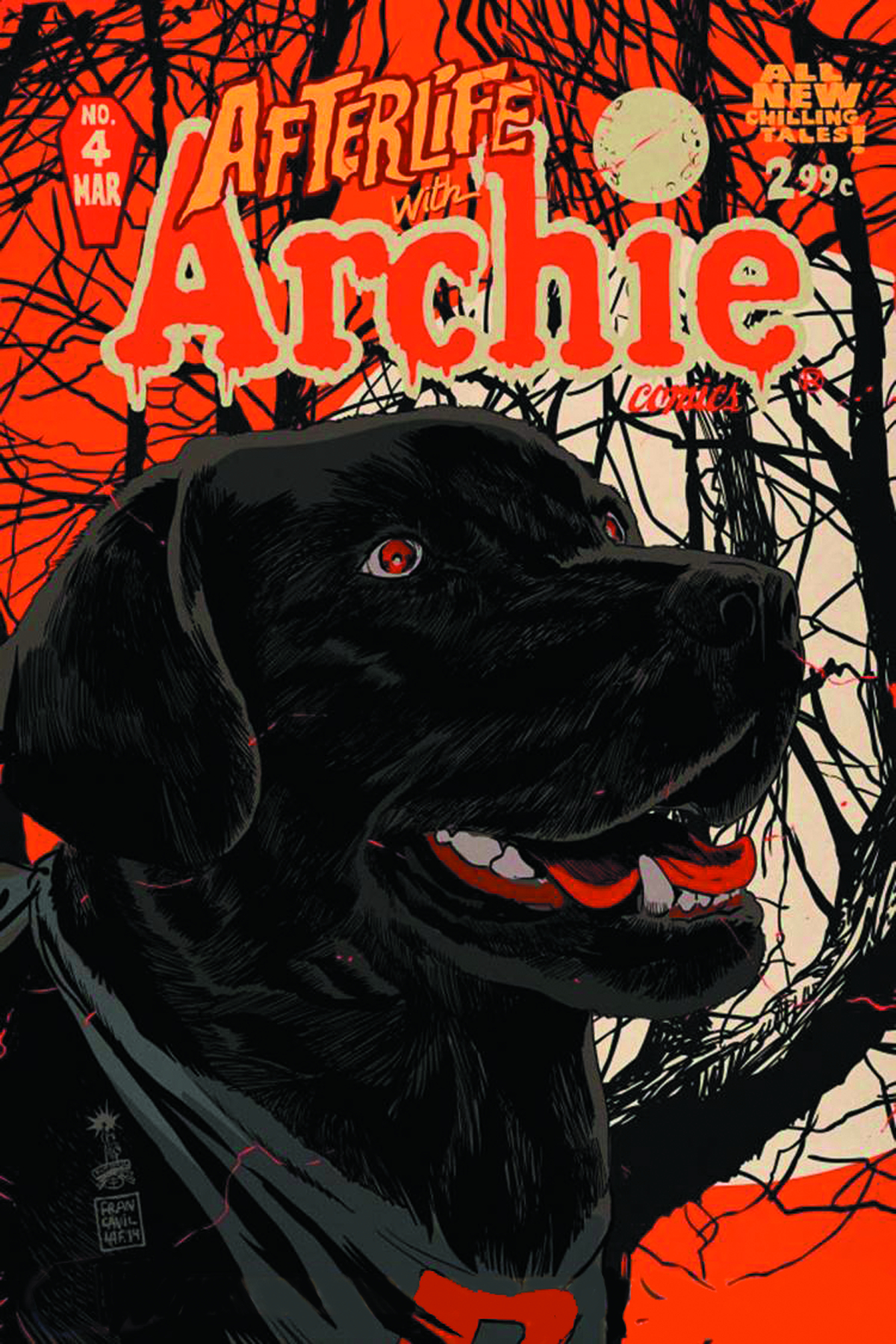 AFTERLIFE WITH ARCHIE #4 2ND PTG