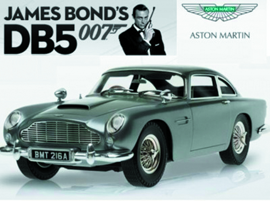 HW ELITE CC JAMES BOND GOLDFINGER 1/18 ASTON MARTIN DB5