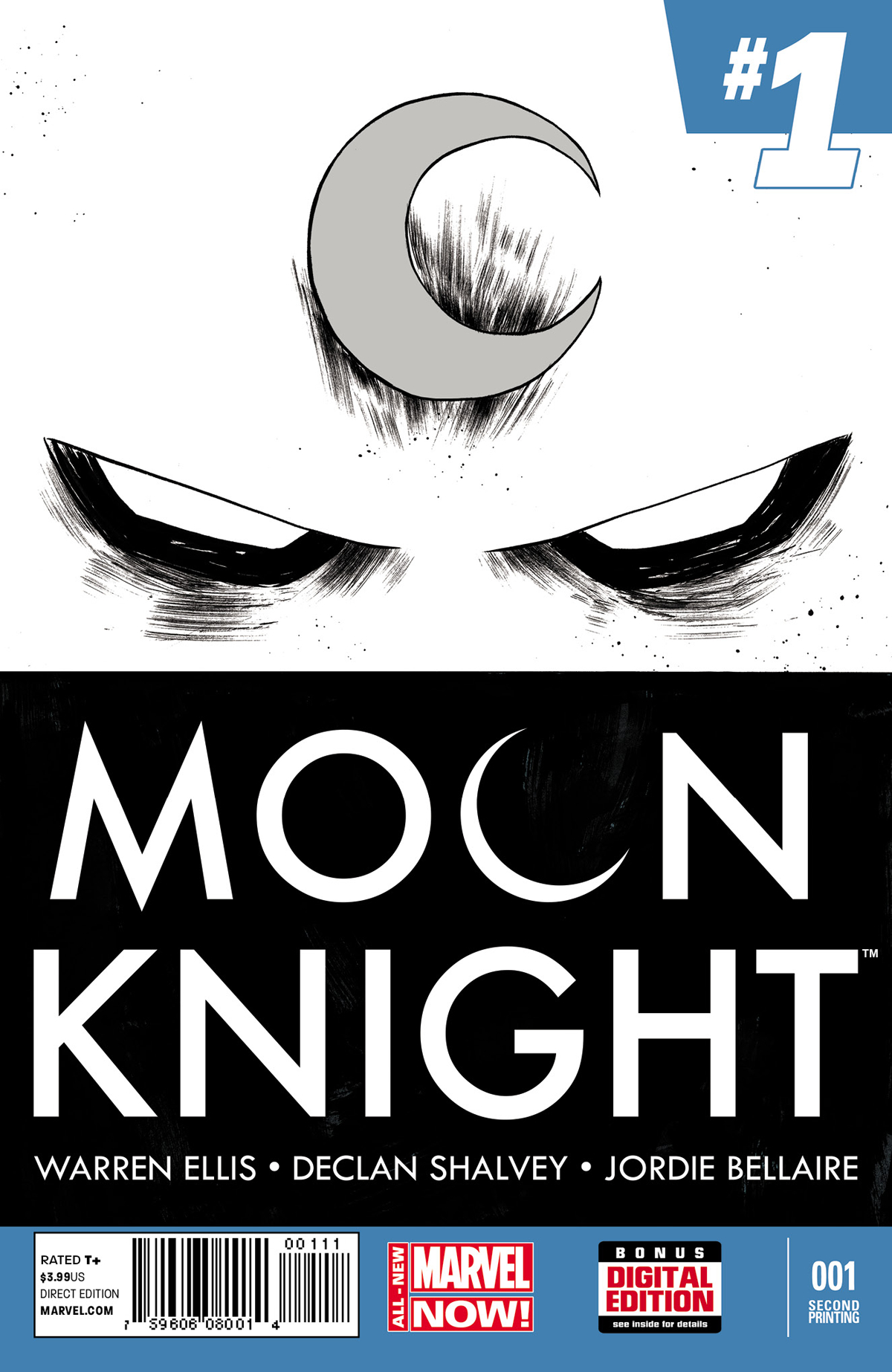 MOON KNIGHT #1 2ND PTG SHALVEY VAR ANMN