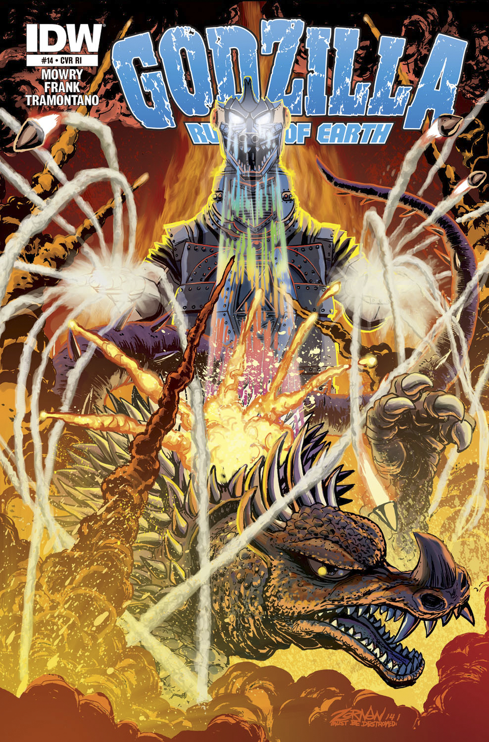 GODZILLA RULERS OF THE EARTH #14