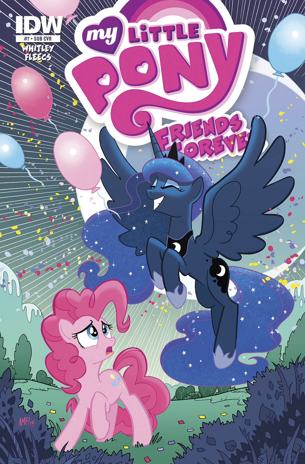 MY LITTLE PONY FRIENDS FOREVER #7 SUBSCRIPTION VAR