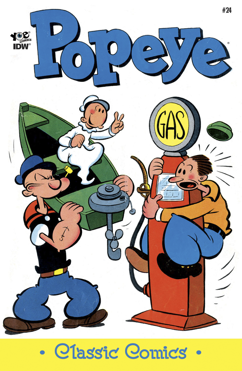 POPEYE CLASSICS ONGOING #24