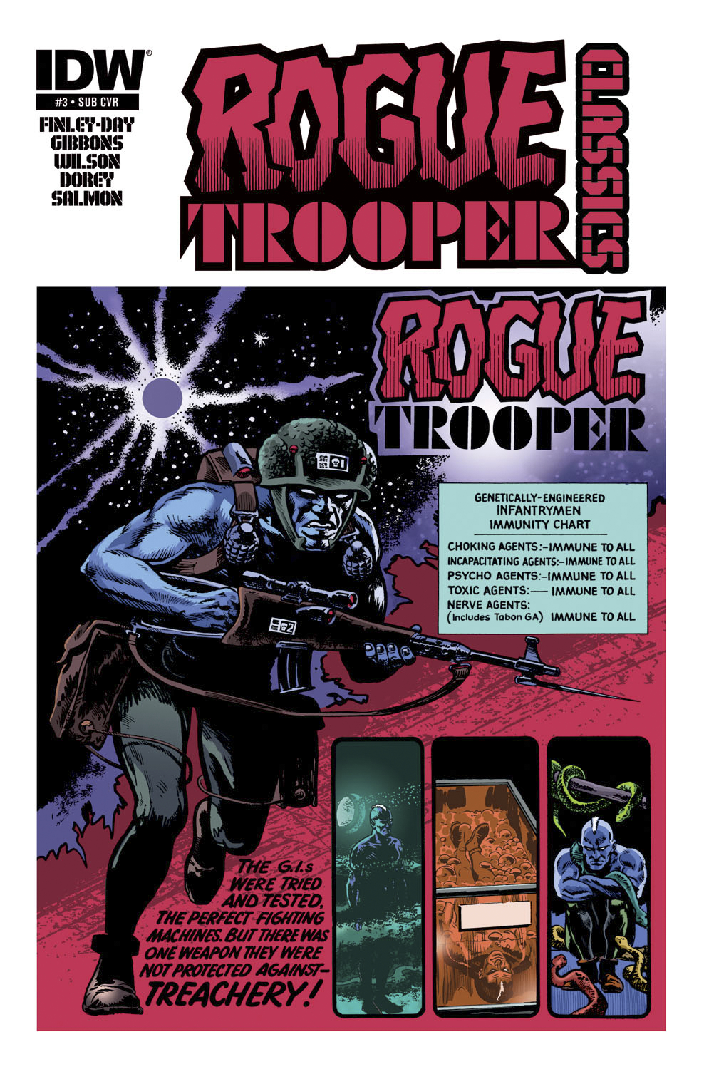 ROGUE TROOPER CLASSICS #3 (OF 12)