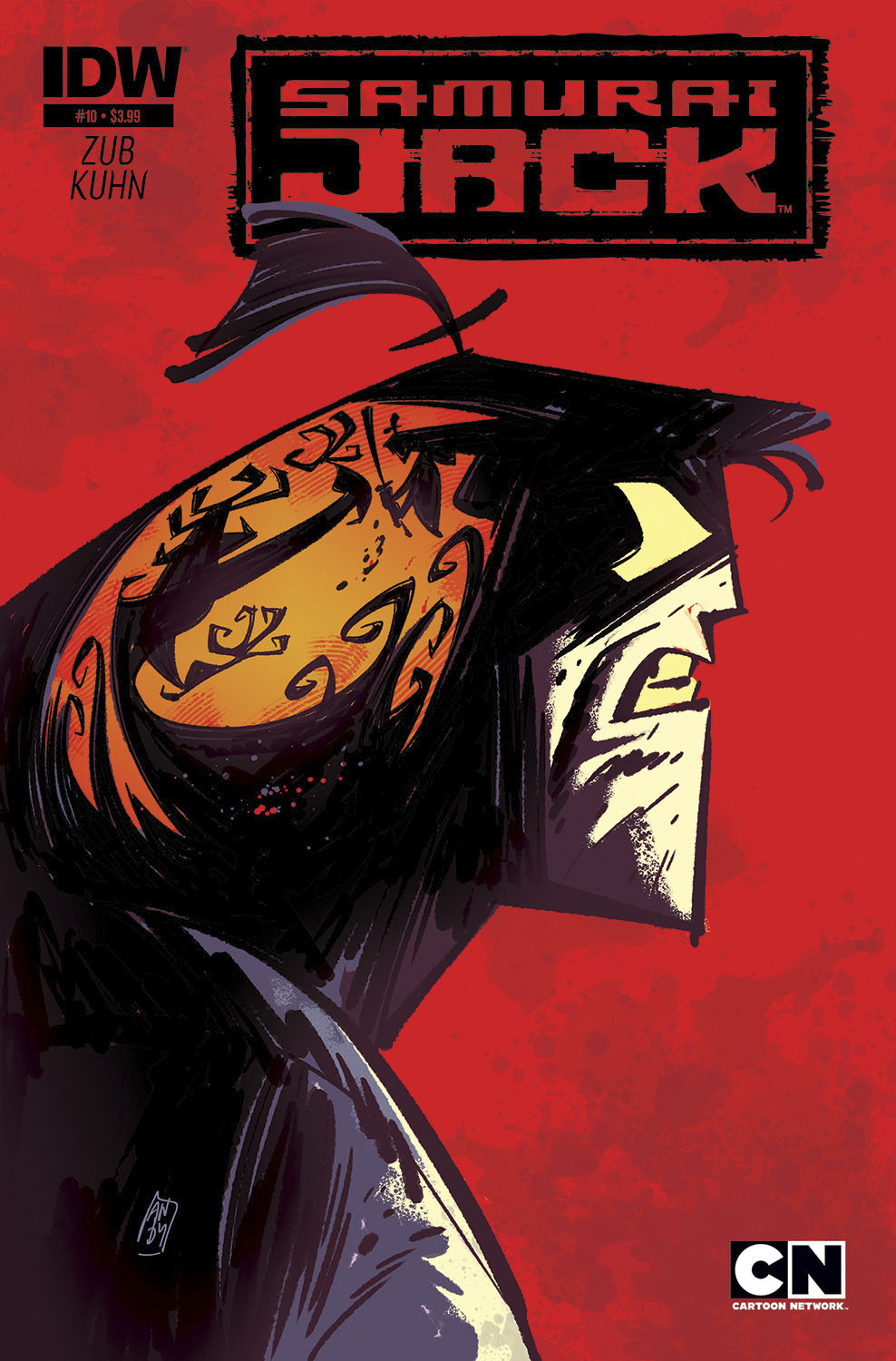SAMURAI JACK #10 SUBSCRIPTION VAR