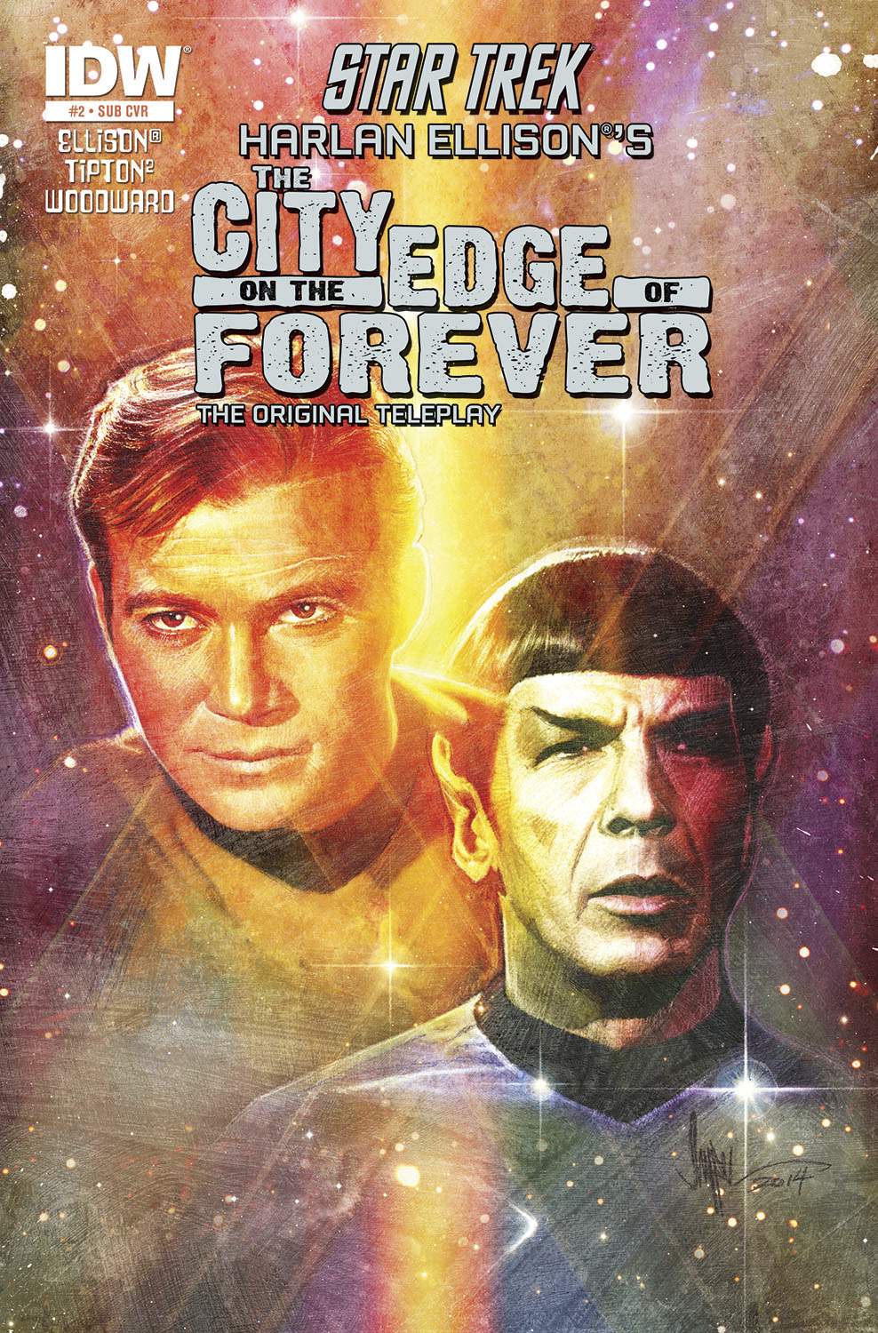 STAR TREK CITY O/T EDGE OF FOREVER #2