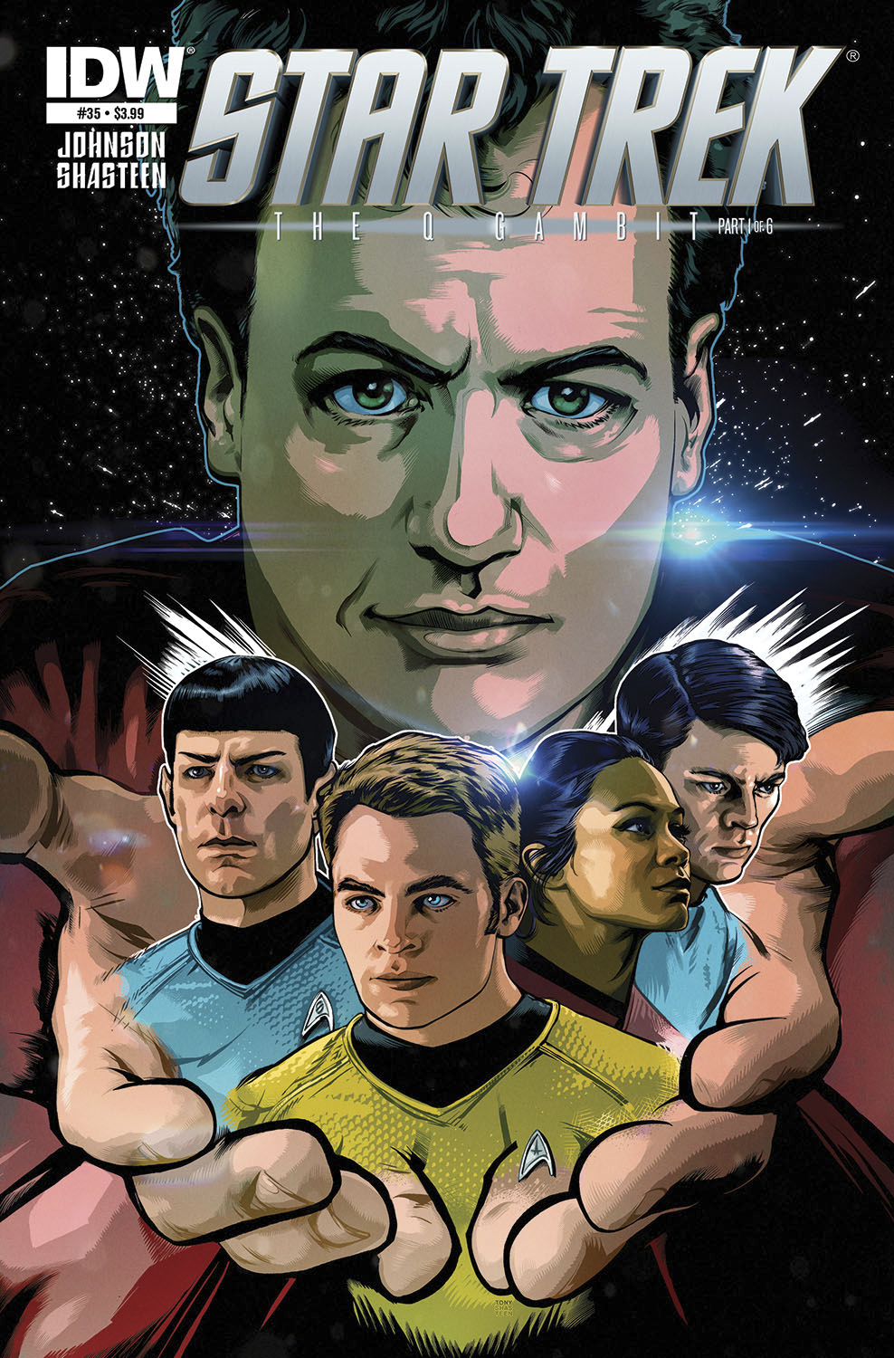 STAR TREK ONGOING #35 SUBSCRIPTION VAR