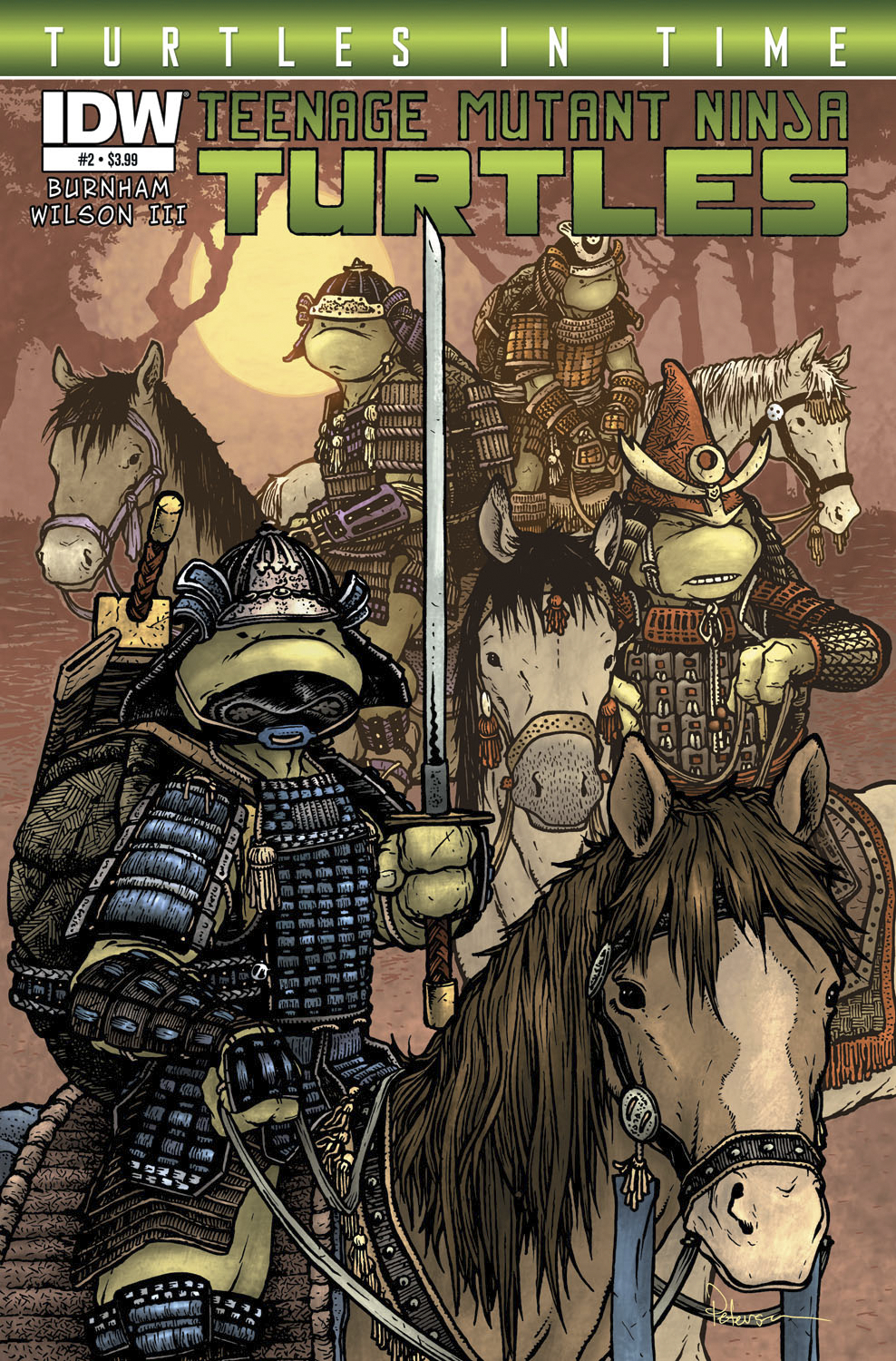 TMNT TURTLES IN TIME #2
